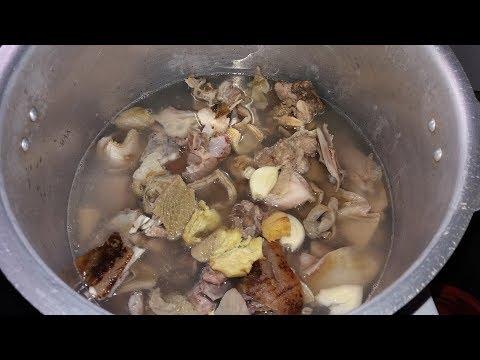 Jamaican Goat head soup [ PART 1 ]
