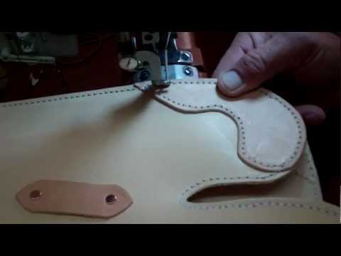 how to make a high quality leather scabbard
