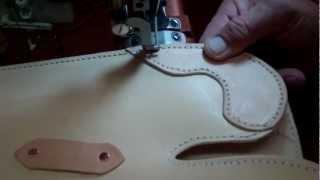 Rifle Scabbard Construction & Finishing