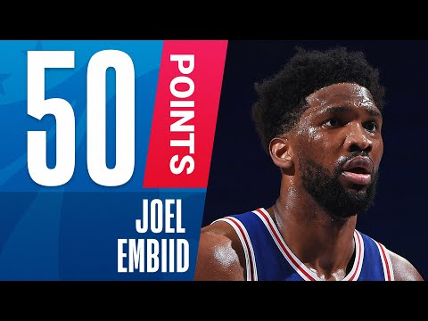 Joel Embiid Drops First Career 50-PT Game!