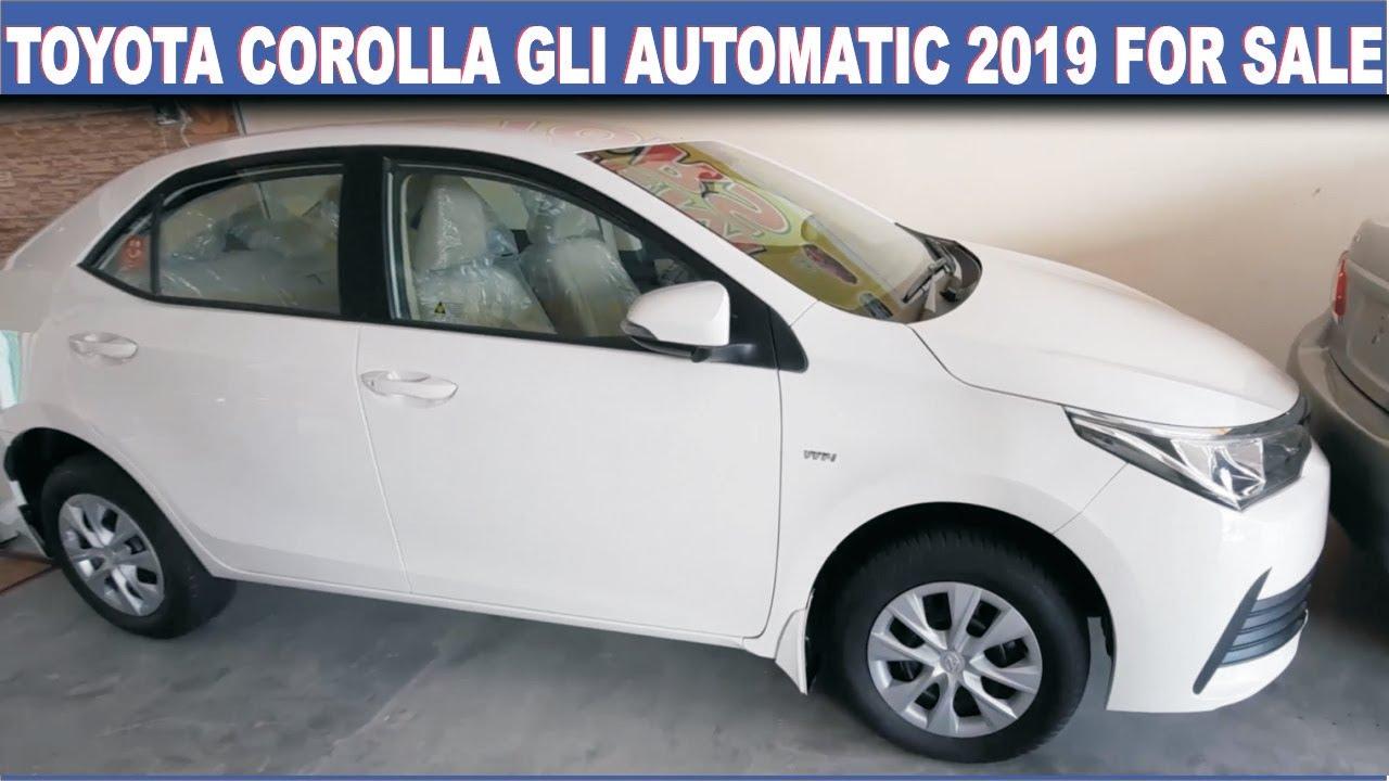 Toyota Corolla Gli 1 3 Automatic 2019 Specifications Price In Pakistan Youtube