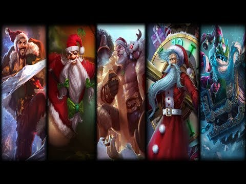 If league of legends Champions had Facebook #7 (Who is the real Santa)