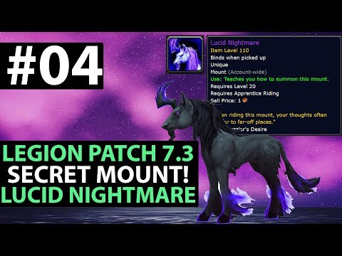 World Of Warcraft Legion Patch 7.3 SECRET MOUNT Lucid Nightmare - Gnomeregan Binary Puzzle - Part 4
