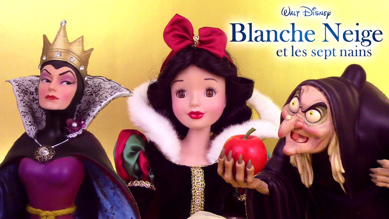 Disney princesse blanche neige snow white poup e figurines sorci re m chante reine youtube - Blanche neige sorciere ...