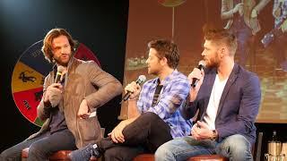 2018 JIB 9 Sunday Jensen & Misha panel - with bonus Jared Part 1