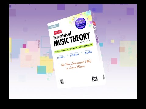 Essentials of Music Theory Version 3 - Install Demo