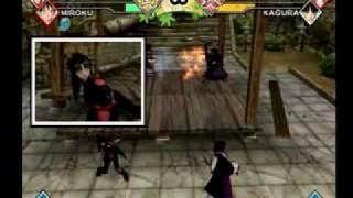 Inuyasha Feudal Combat - Sango & Miroku vs. Kikyo & Kagura