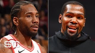 Kawhi and KD are taking the Clippers seriously in free agency - Woj | SportsCenter