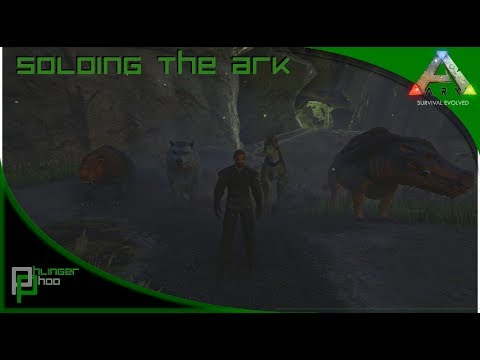 Soloing The Ark S4E26! Cave Of The Hunter! Which Dino Is Best?