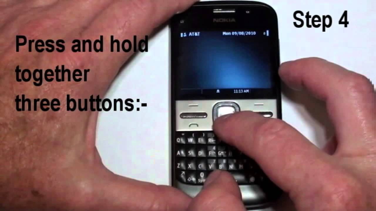 How to hard reset Nokia E6 and similar Symbian Phones using best methods
