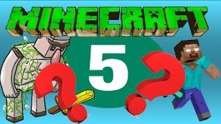 Minecraft En Az Bilinen 5 Bilgi! ( KANITLI )