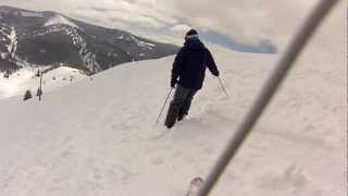 Vail Back Bowls and Belle's Camp - Space Wrangler - Widespread Panic - Shot on My GoPro Hero