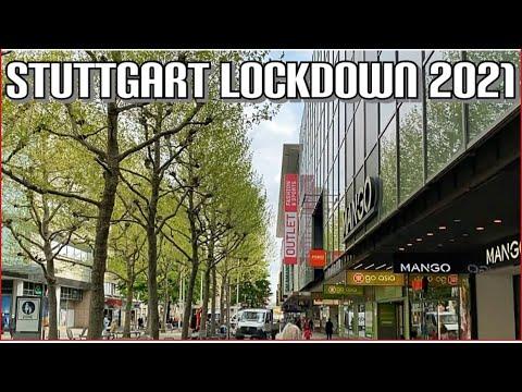 Walking in Germany |stuttgart königstrasse |stuttgart Germany city Tour(LOCKDOWN GERMANY APRIL 2021)