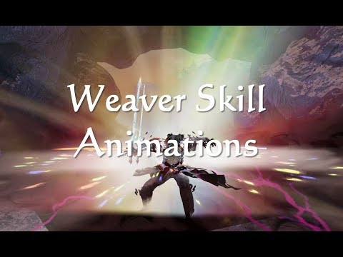 GW2 Weaver (Elementalist) Elite Spec Skill Animations