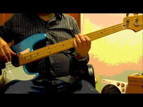 Santana - Flor de Luna (Moonflower) Bass Cover