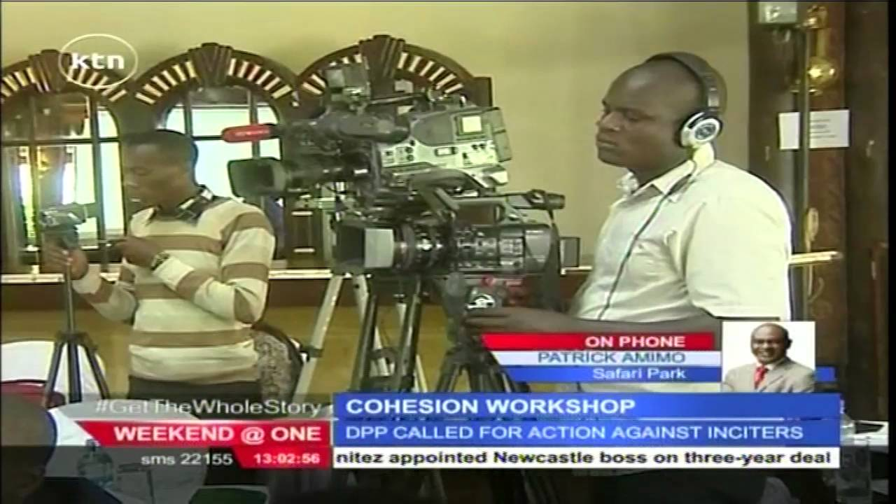 Parliamentary committee holds workshop on hate speech and ethnic polairsation in Kenya