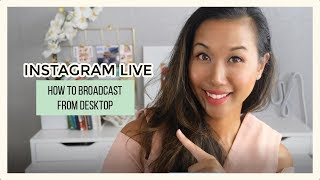 Instagram Live: How to Broadcast from Desktop with Loola.tv