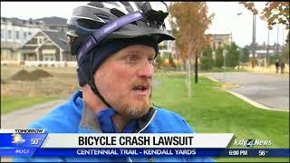 Woman sues man who yelled
