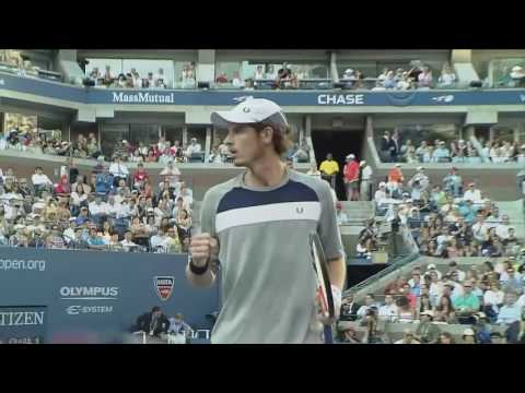 Roger Federer vs Andy Murray   US Open 2008 Final Highlights HD