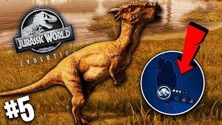 *NOWA* WYSPA! WALKA Z ŻYWIOŁAMI! | Jurassic World Evolution #4