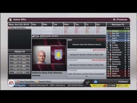 Fifa 13 | Aston Villa Career Mode - Episode 5 - Benteke