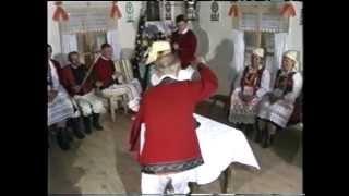 Polish folklore Kurpie zielone