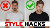 6 Clothing Tricks Most Guys Don't KnowMen's Style Hacks 2019Alex Costa