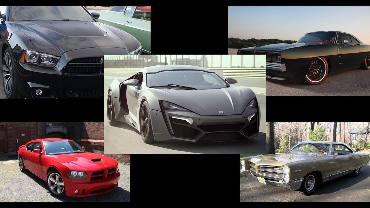 Vin Diesel S Car Collection