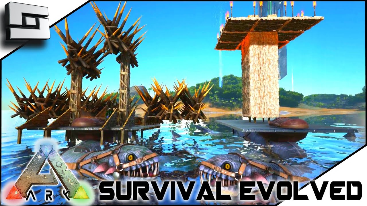 ARK: Survival Evolved   BUILDABLE PLESIO SADDLE! ELEVATOR! BALLISTA! S2E18  ( Gameplay )   Hot Clip, New Video Funny   Keclips.Com