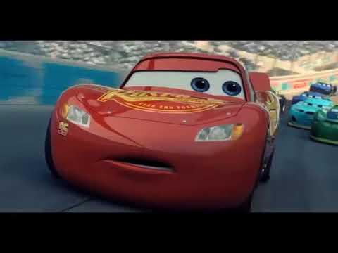 كرتون السيارة الحمراء