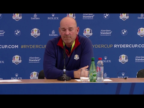 Ryder Cup 2018 - Day 1 Thomas Bjorn Press conference