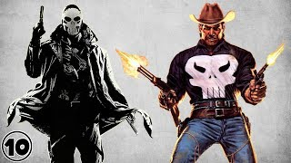 Top 10 Alternate Versions Of The Punisher