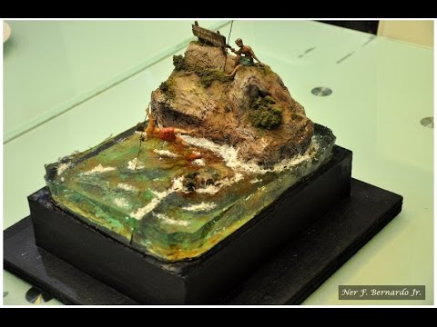 """A """"Disastrous"""" Resin w/ my Spear Fishing Diorama Build"""