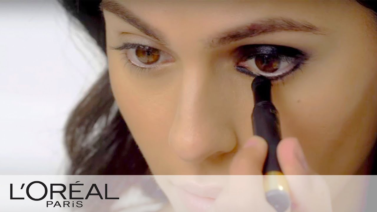 Smokey Eye In One Step Makeup Tutorial Infallible Loreal Youtube