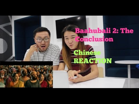 Chinese React to Baahubali 2 - The Conclusion | Official Trailer (Hindi) | i | Prabhas |