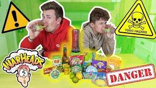 brother s make the world s most sour drink challenge