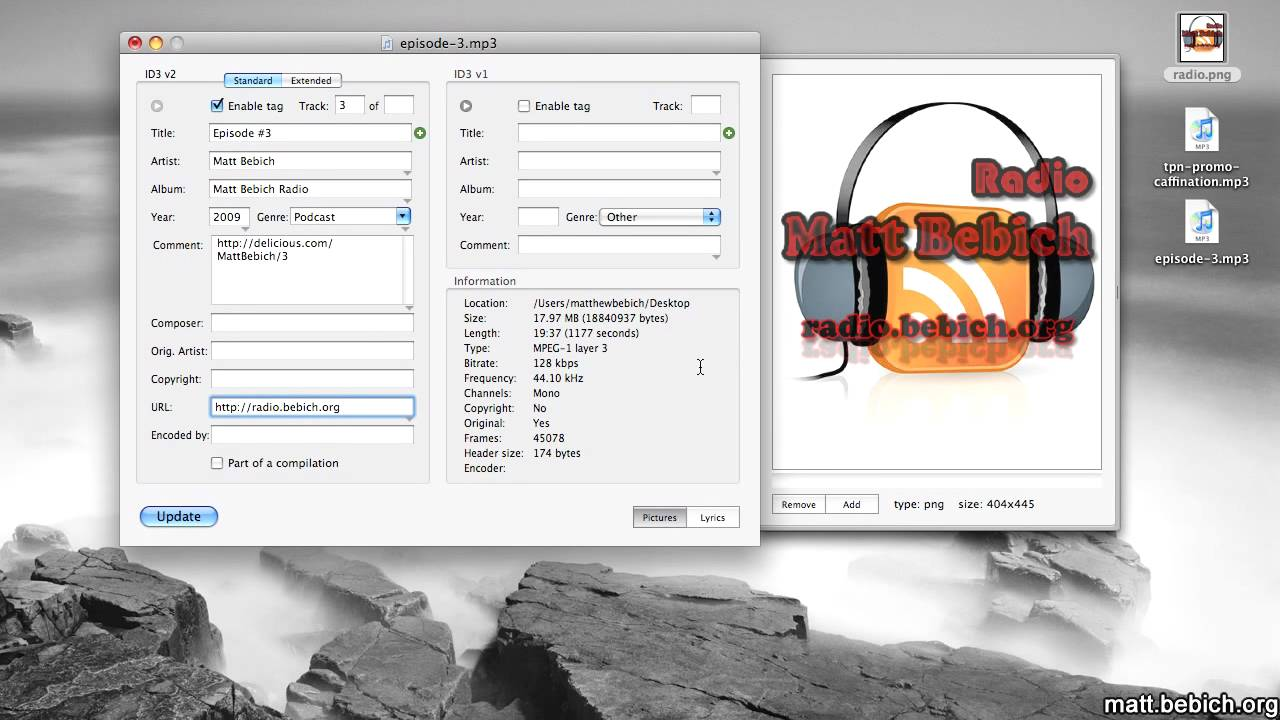 How To Add Artwork To Mp3 File Mac Os X Youtube
