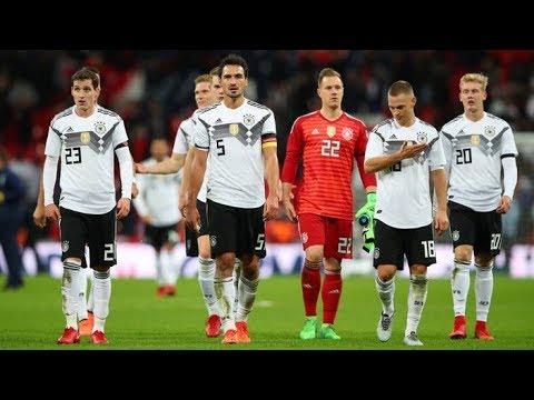 Deutschland Gegen England 2017