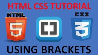 html and css tutorial for beginners 7 image element with brackets live preview