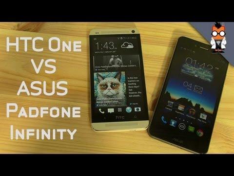 HTC One vs ASUS Padfone Infinity - HD Smartphone Comparison
