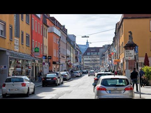 Unterwegs im Hauger Viertel in Würzburg