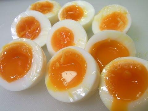 How to make half boiled egg 半茹で卵の作り方