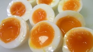 How To Make Half Boiled Egg 半茹で卵の作り方