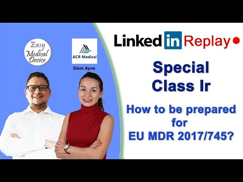 How To Certify Your Class Ir Reusable Surgical Instruments (EU MDR 2017/745)