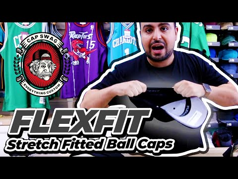 Fitted Dad Hats | Stretch Fitted Ball Caps | flexible fit Dad hats
