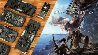 Monster Hunter World Benchmarks with Budget Graphics Cards!