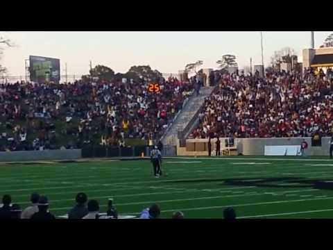THE VERY First Wave at Hornet Stadium Alabama State University