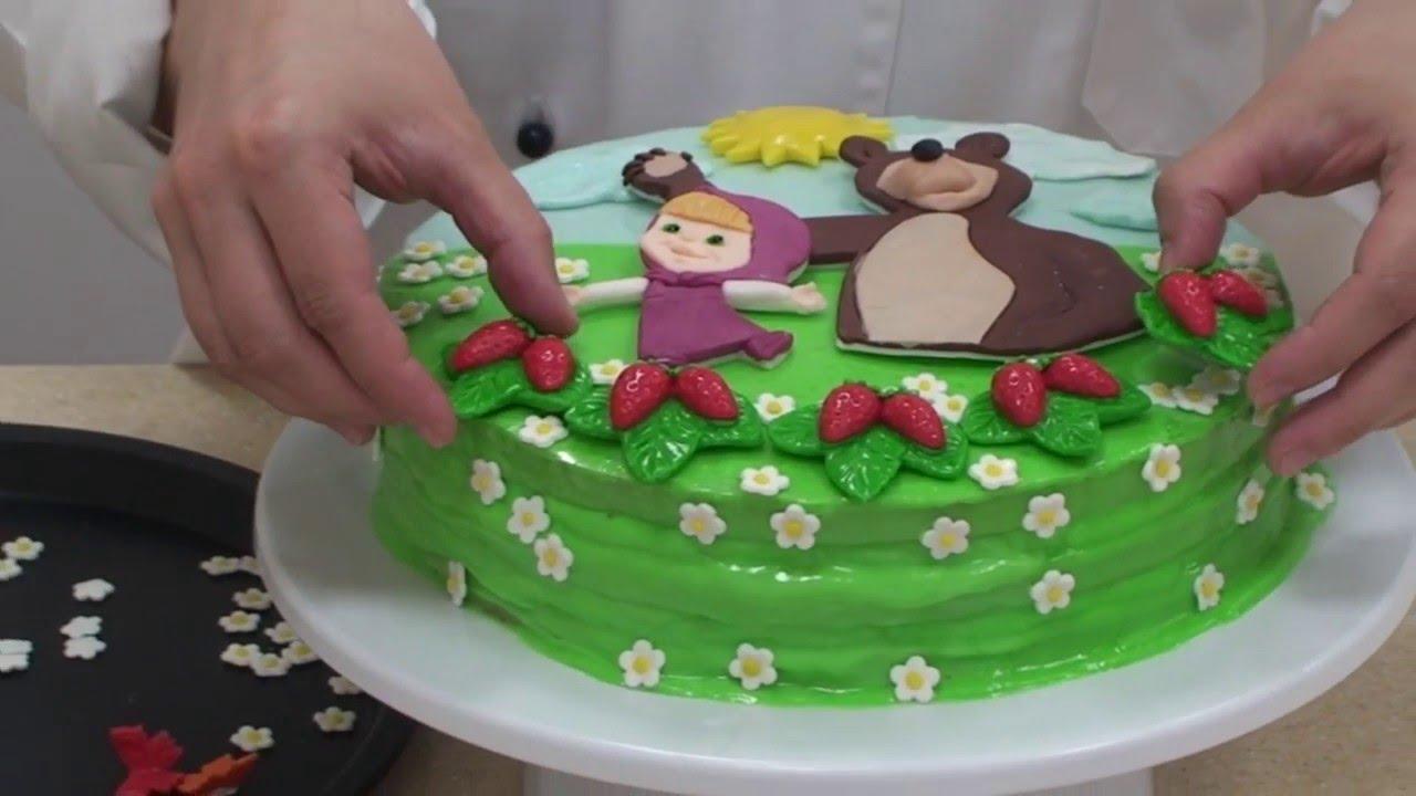 """Детские торты с готовыми аппликациями """"Сахарная вуаль ..."""