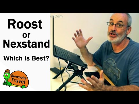 Nexstand or Roost? Laptop Stand Review side-by-side Comparison