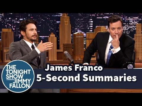 5-Second Summaries with James Franco – Part 1 fragman